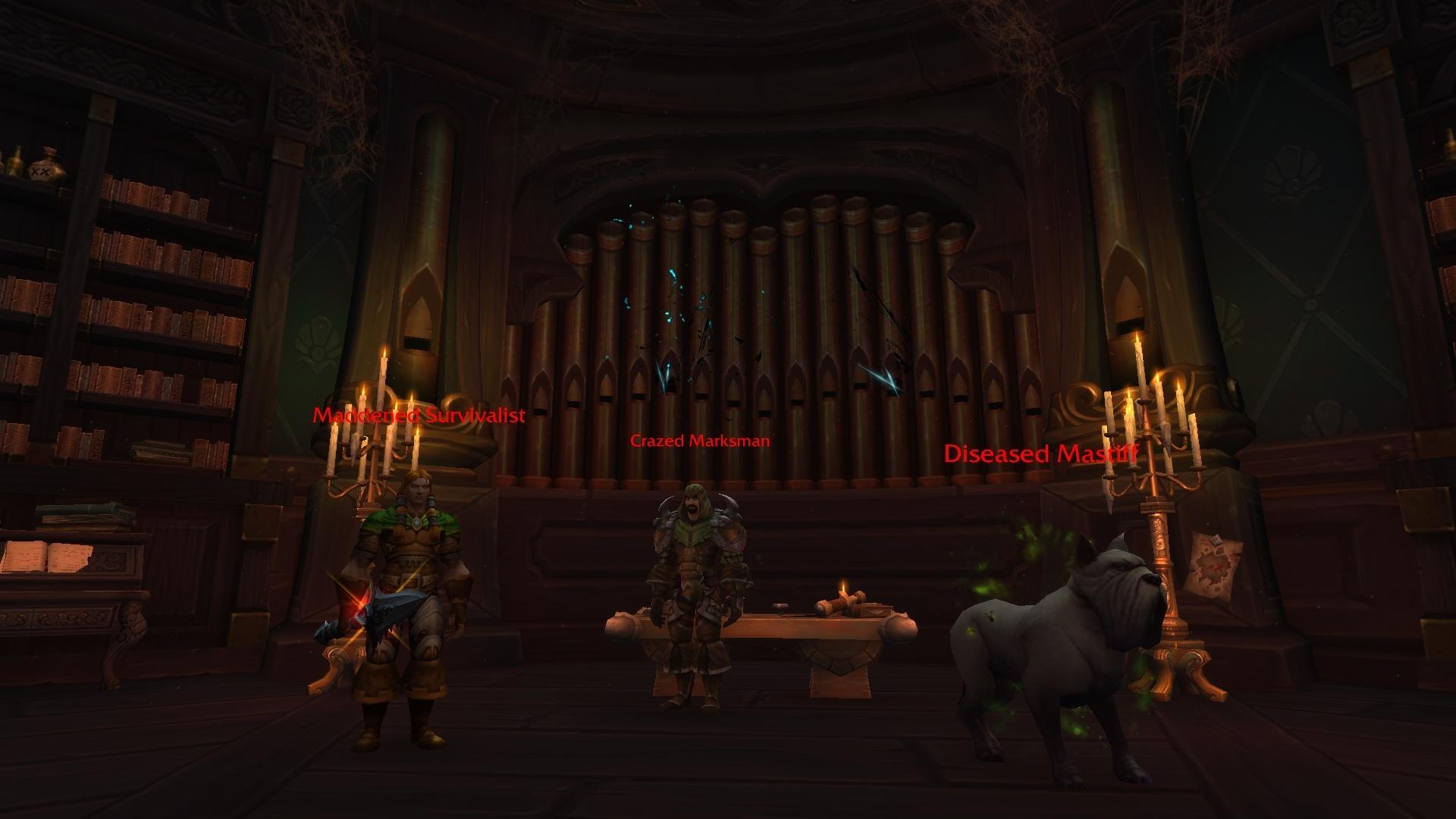 WoW Waycreast Drust Organ