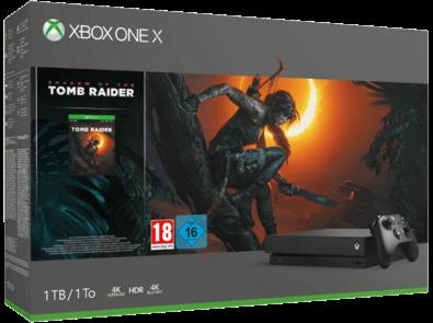 Xbox One X Tomb raider bundle