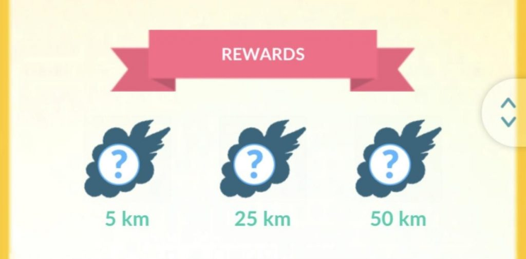adventure-sync-rewards Pokemon GO