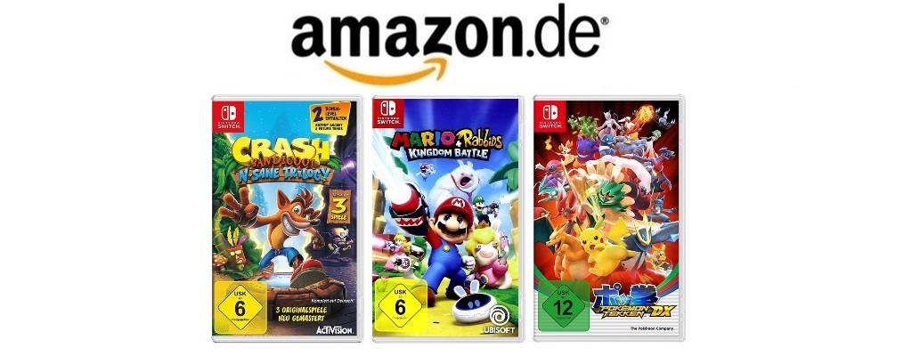 Nur noch bis morgen: 3 Spiele für Nintendo Switch ab 70 Euro bei Amazon