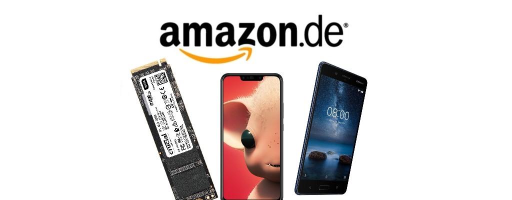 Amazon Cyber Week: Crucial-SSDs und Huawei P Smart+ reduziert