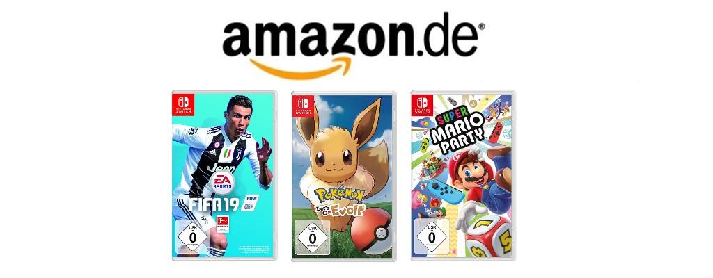 3 Switch-Spiele ab 70 Euro zur Cyber Week bei Amazon sichern