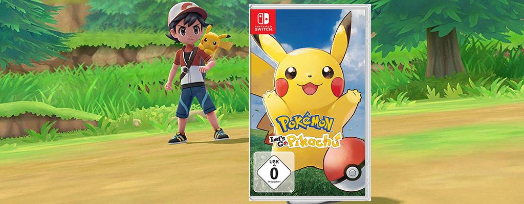 Cyber Week – Pokémon: Let's Go, Pikachu & Evoli für nur 36,50 Euro
