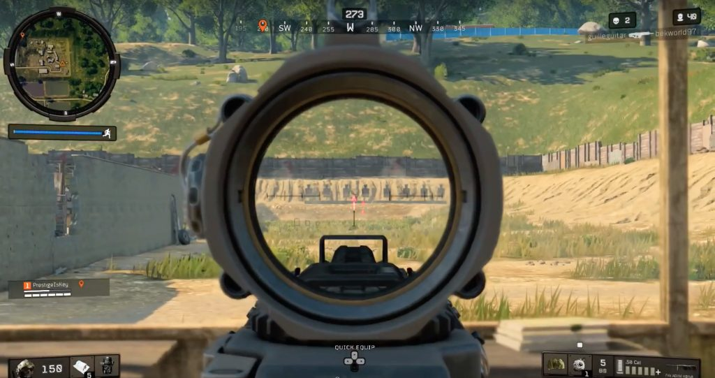 cod blops4 firing range challenge 2