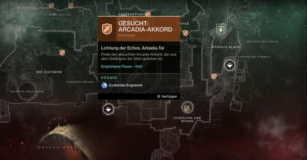 d2 arcadia location