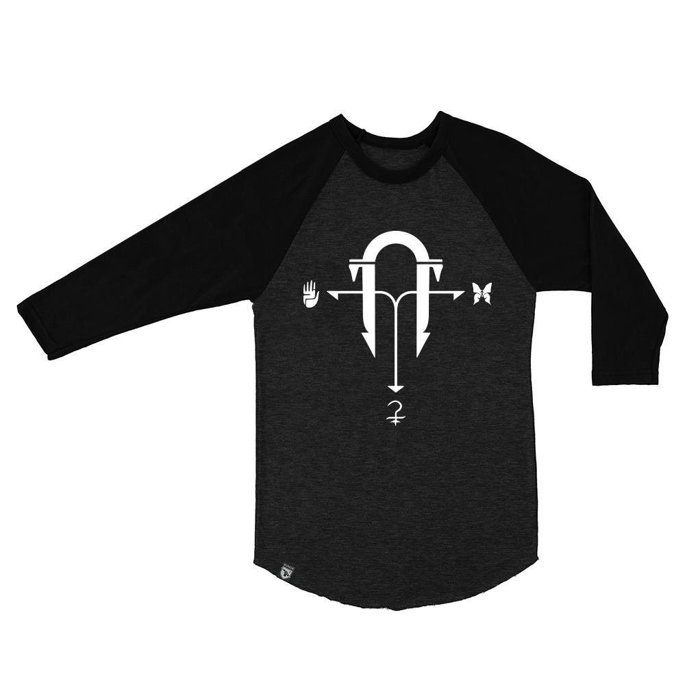 d2 raglan shirt front