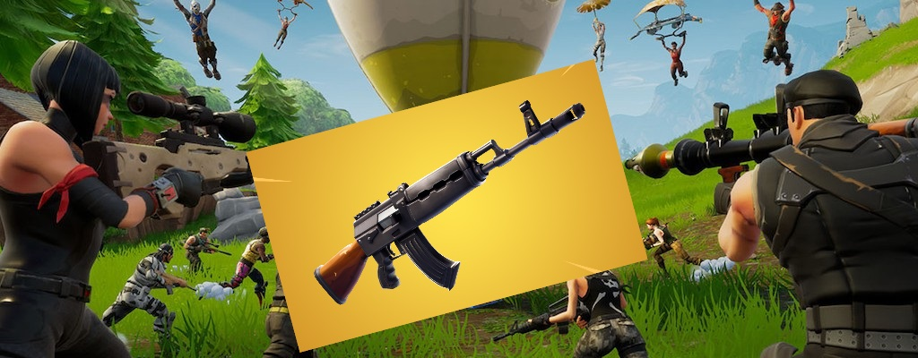 Darum ist das neue schwere Sturmgewehr AK-47 in Fortnite so gut