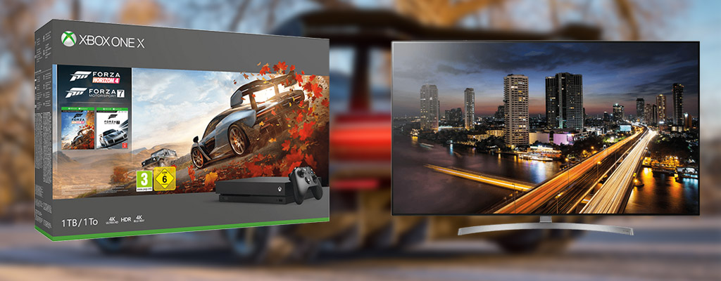 Red Friday Angebote: Xbox One X Forza Bundle und LG OLED-TV