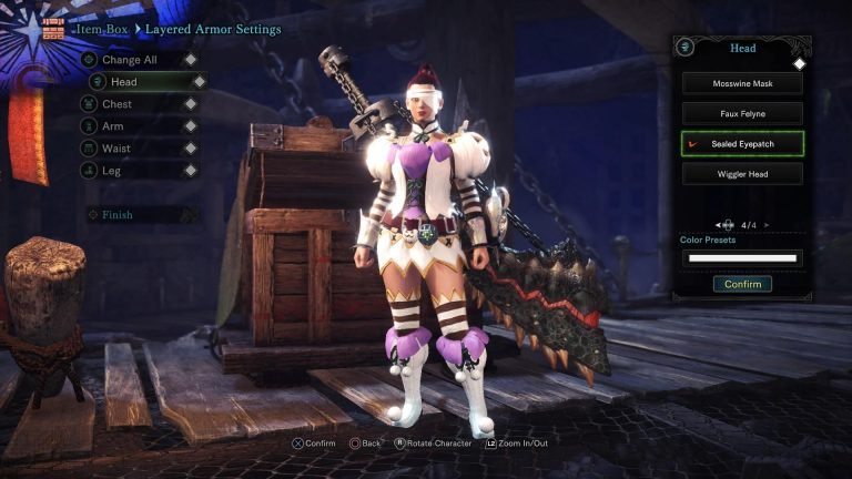 monster hunter world dichte augenklappe