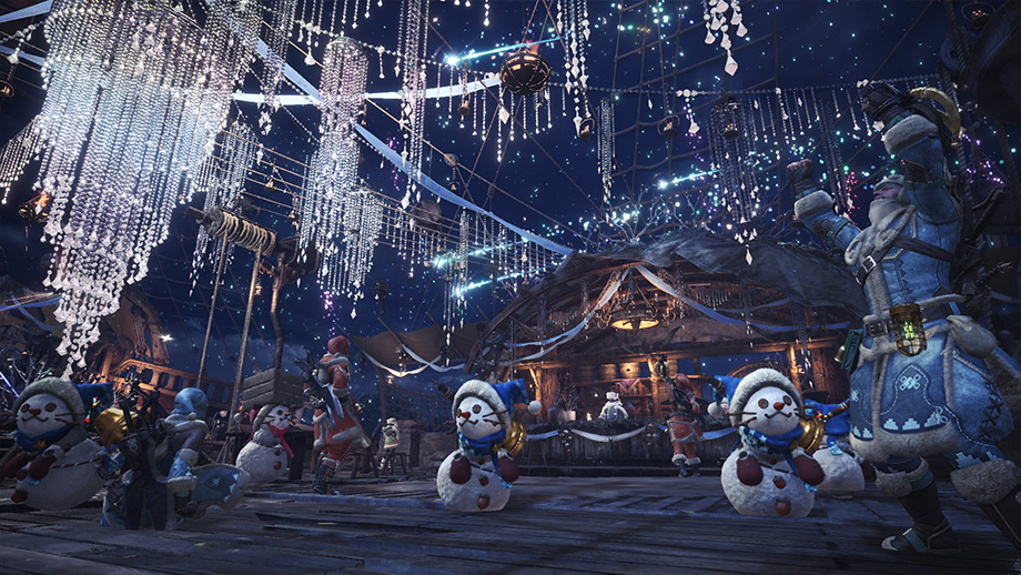 monster hunter world winterfest