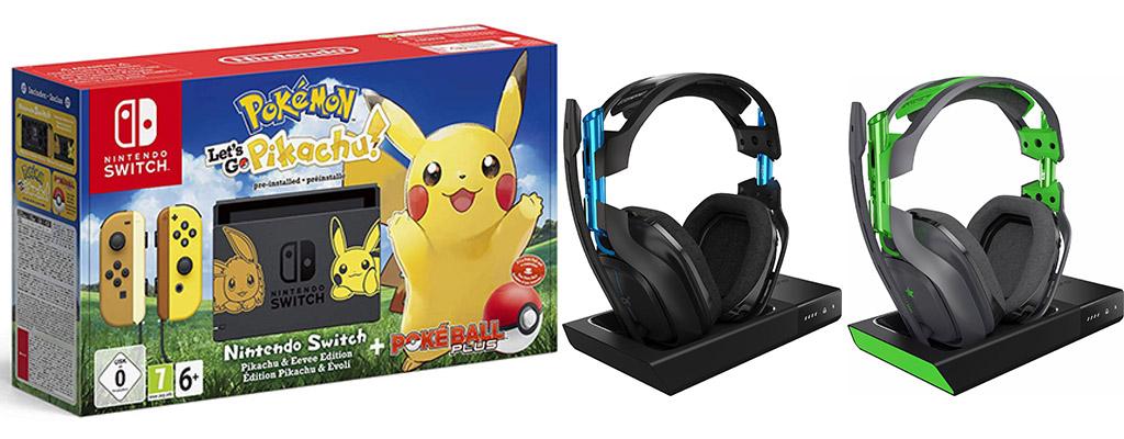 Aktuelle Angebote Nintendo Switch Pikachu Edition Für 366 Euro