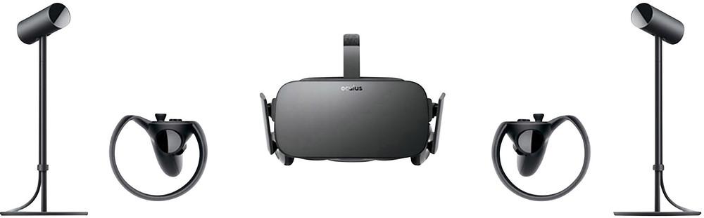 oculus-rift-schwarz-virtual-reality-brille-inkl-controller-mit-integriertem-soundsystem 2