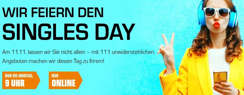 Singles Day bei Saturn.de: UHD-TV, Gaming-PC und Honor 10 stark reduziert