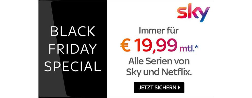 Sichert euch Sky und Netflix im Bundle Angebot dauerhaft für nur 19,99€