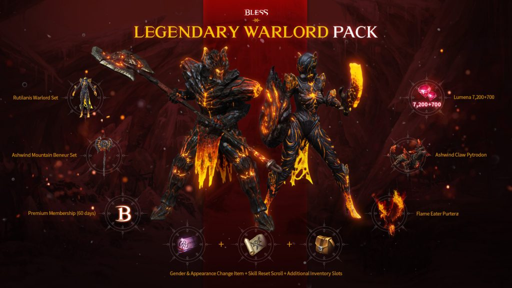bless warlord pack