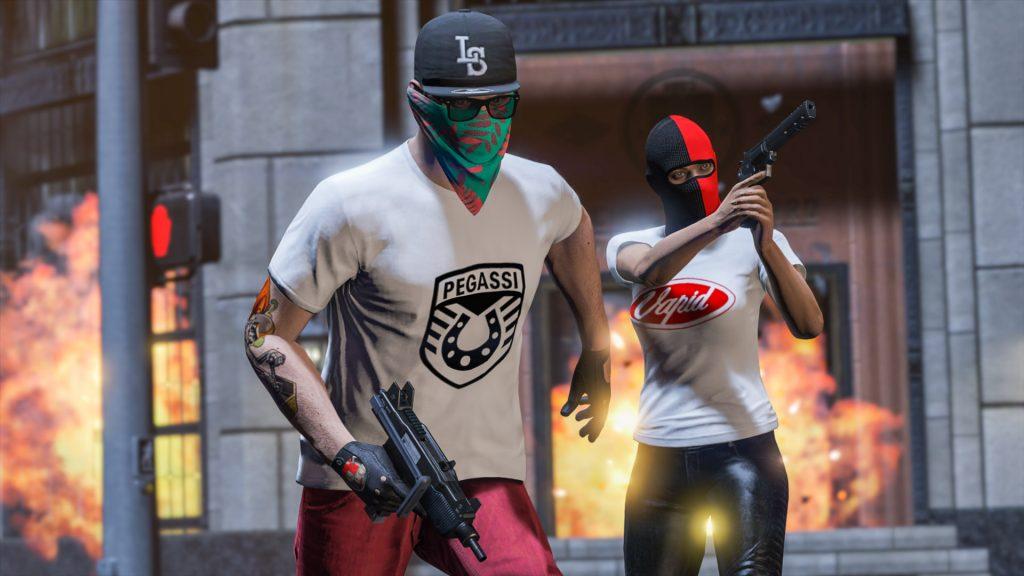 GTA Online Gratis-Shirts