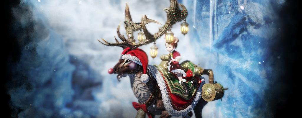 """Gewinnt sofort ein """"Winter Wonderland""""-Paket für Bless Online"""