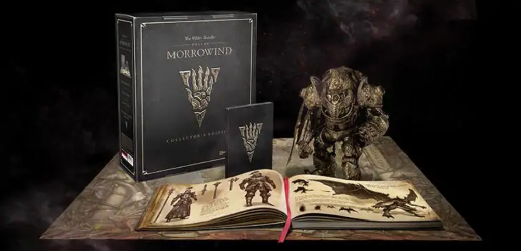 eso morrowind collectors