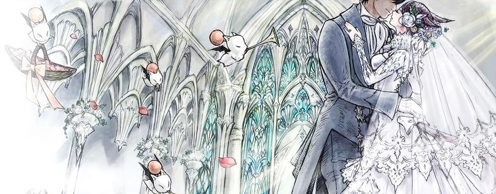 Hochzeiten aus Final Fantasy XIV werden bald auch in echt möglich sein