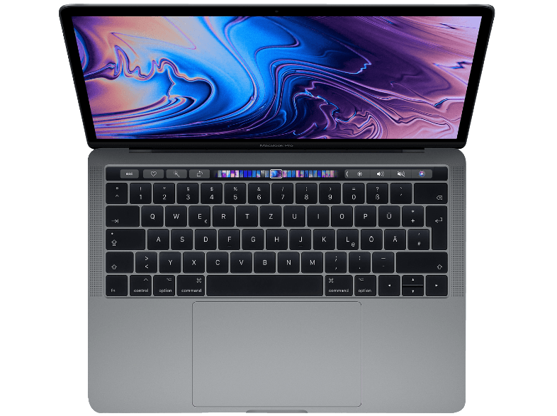 APPLE-MacBook-Pro-MR9Q2D-A-mit-deutscher-Tastatur–Notebook–Core-i5-Prozessor–8-GB-RAM–256-GB-SSD–Iris-Plus-Graphics-655–Space-Grau