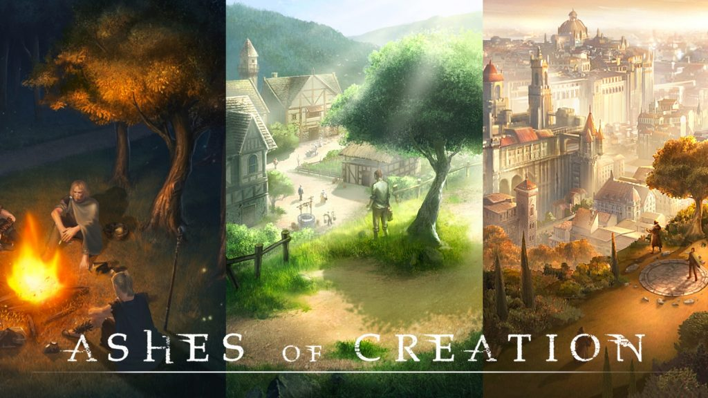 Ashes of Creation Teaser mit 3 Biomen