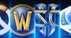 Blizzard Games Logos title