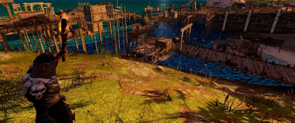 Camelot Unchained Alpha Docks Screenshot Titel