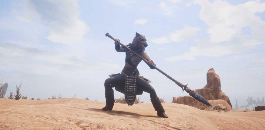 Conan Exiles Piktische Kriegerin