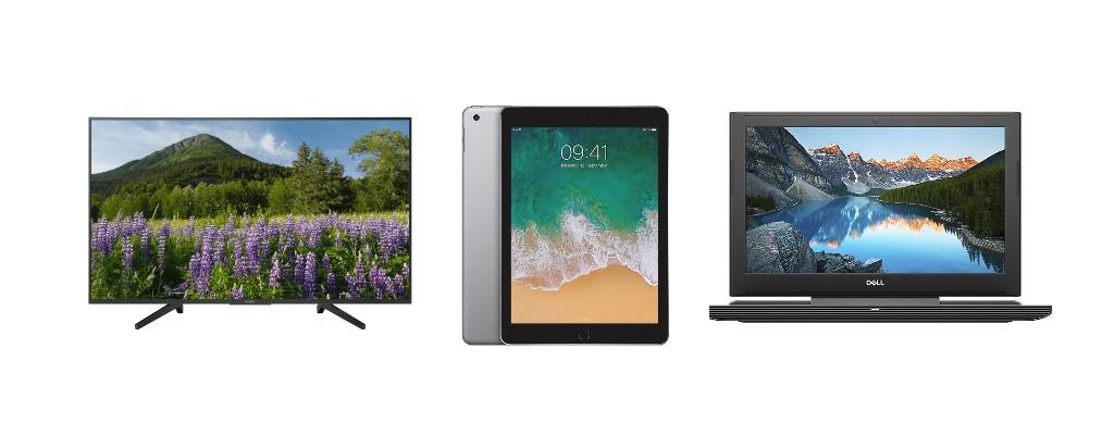 Cyberport: Sony UHD-TV, Apple iPad & Dell-Laptop zu günstigen Preisen