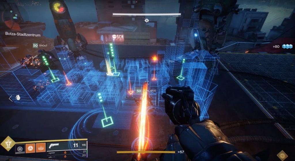 D2 holo map raid