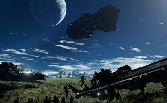 Dual Universe Pre Alpha Screenshot 1 Titel