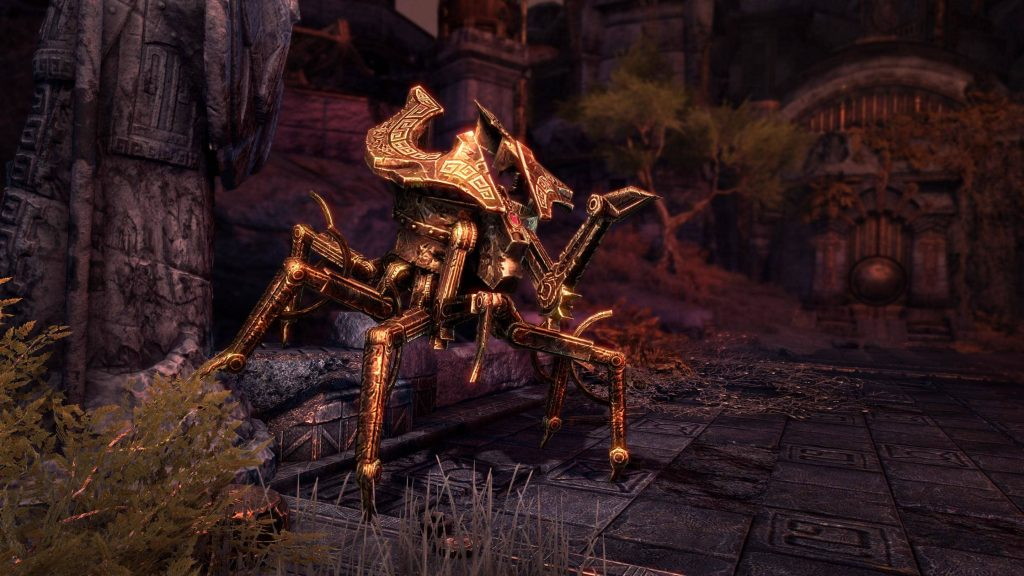 ESO Dwemer Spider Mount