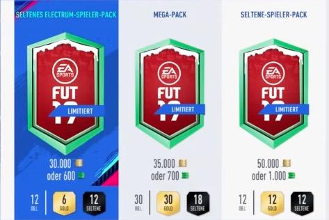 FIFA 19 FUTmas Store