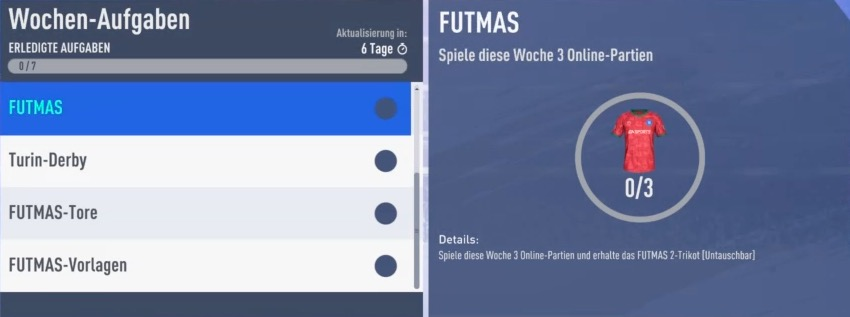 FIFA 19 FUTmas Trikot