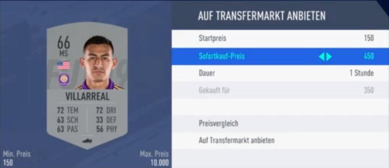 FIFA 19 Liga SBC Guide Duplikat verkaufen