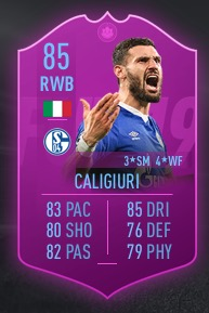 FIFA 19 Liga SBC Reward Caligiuri