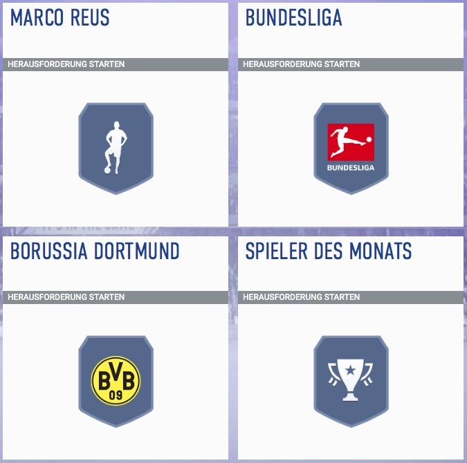 FIFA 19 Reus POTM 2 Anforderungen