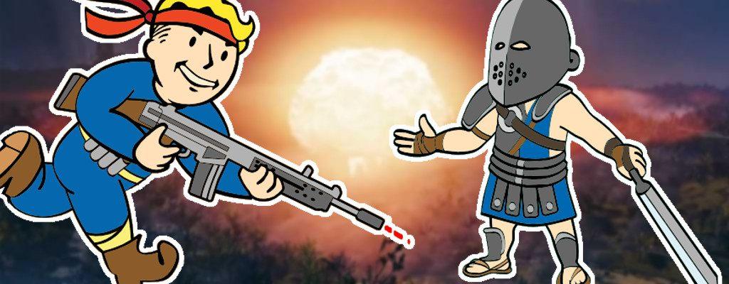 Fallout 76 Atomrakete Spieler machen Raids