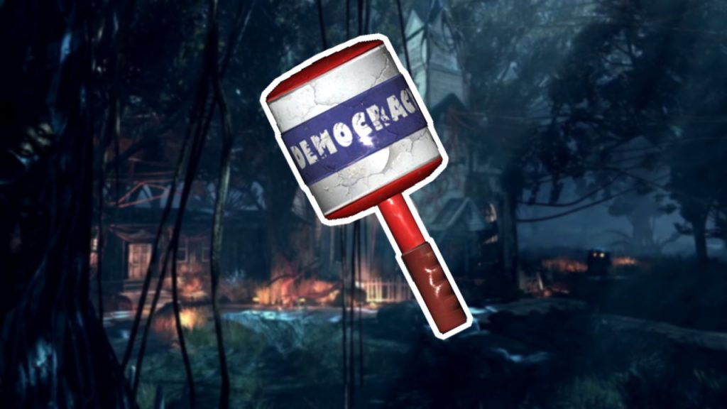Fallout 76 Camden Whacker legendäres Dings