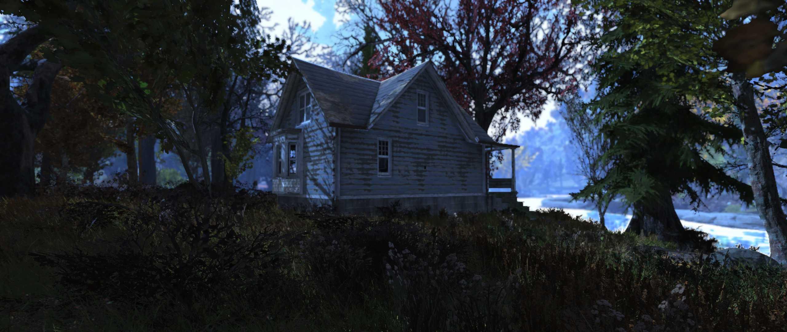 Fallout 76 Gruselhütte im Wald