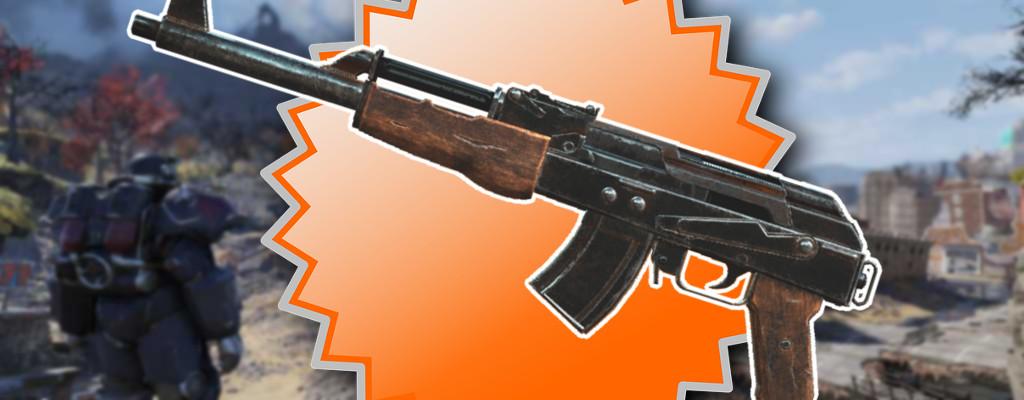 Fallout 76: So bekommt Ihr die Pläne für das Handgefertigte Gewehr
