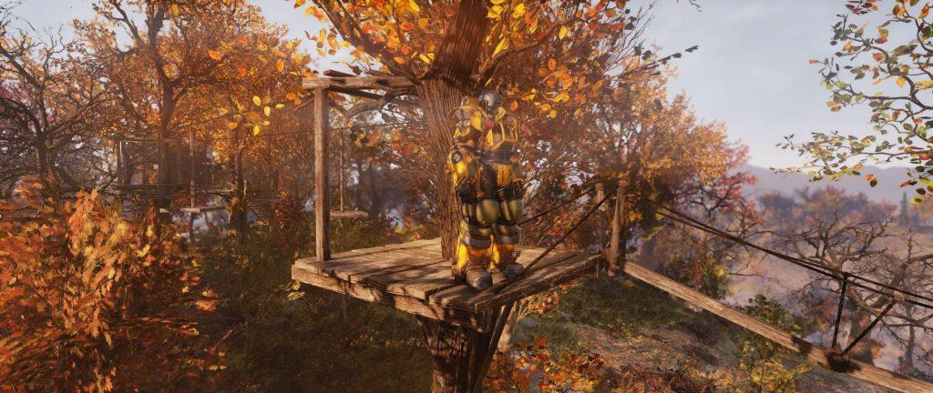 Fallout 76 Kletterwald 2 Plattform