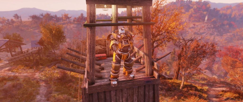 Fallout 76 Kletterwald Ende