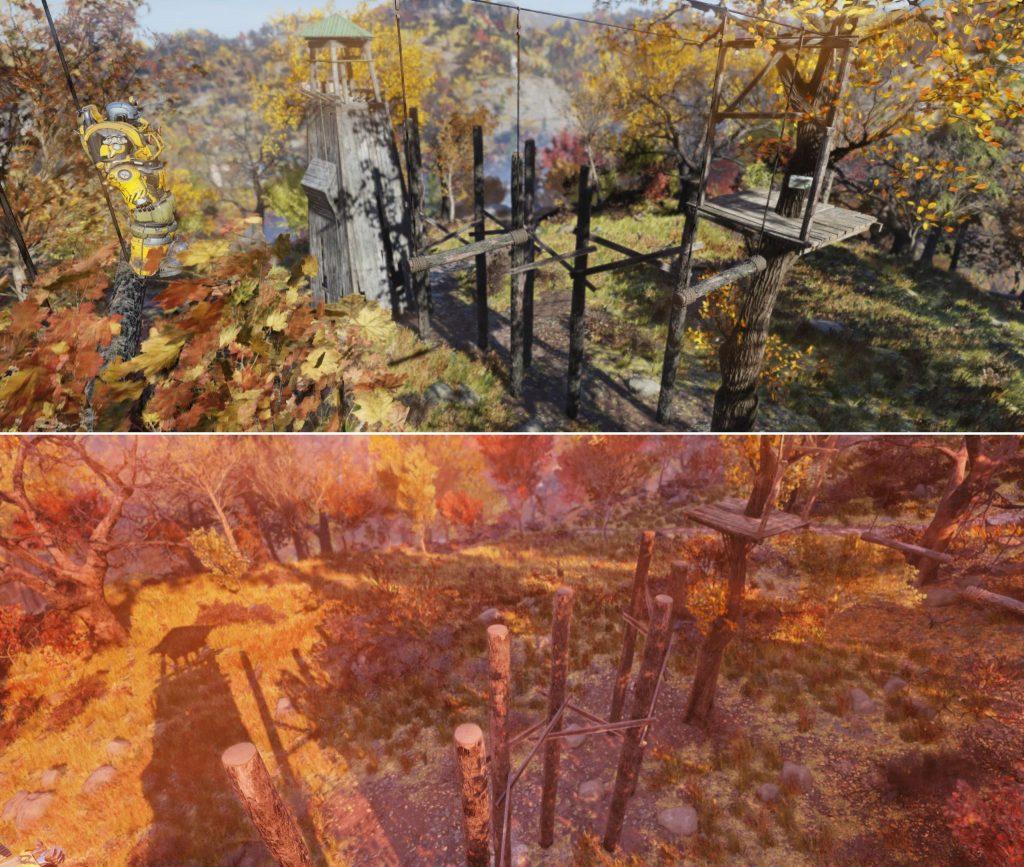 Fallout 76 Kletterwald Herausforderungen