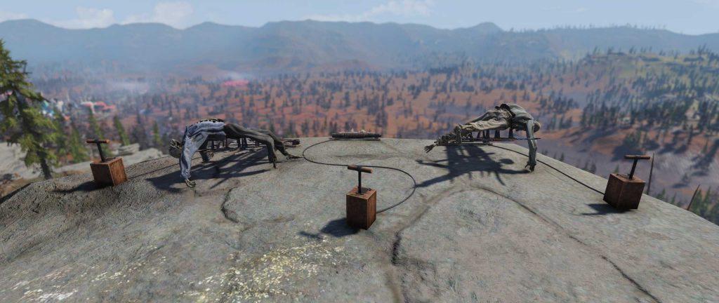 Fallout 76 Leichenkatapulte