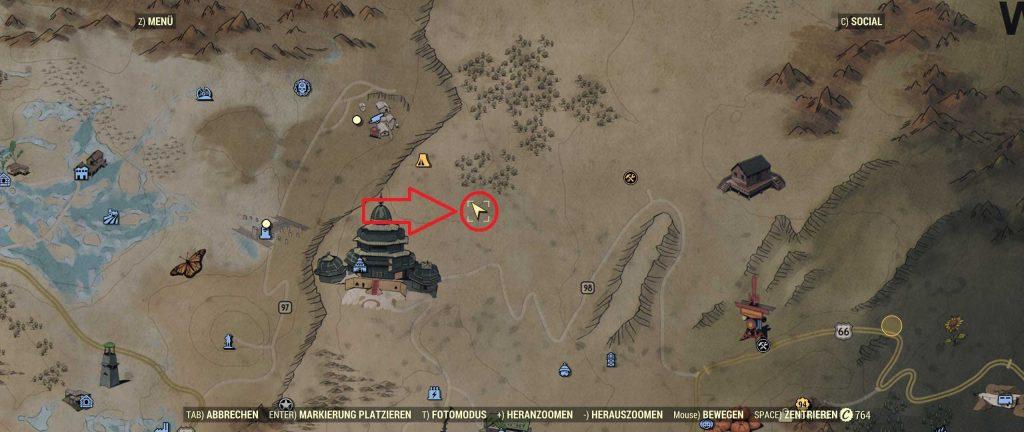 Fallout 76 carhenge ort