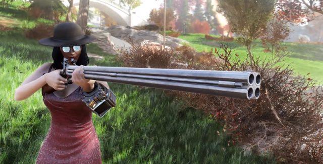 Fallout 76 legendäre waffe der drache gewehr
