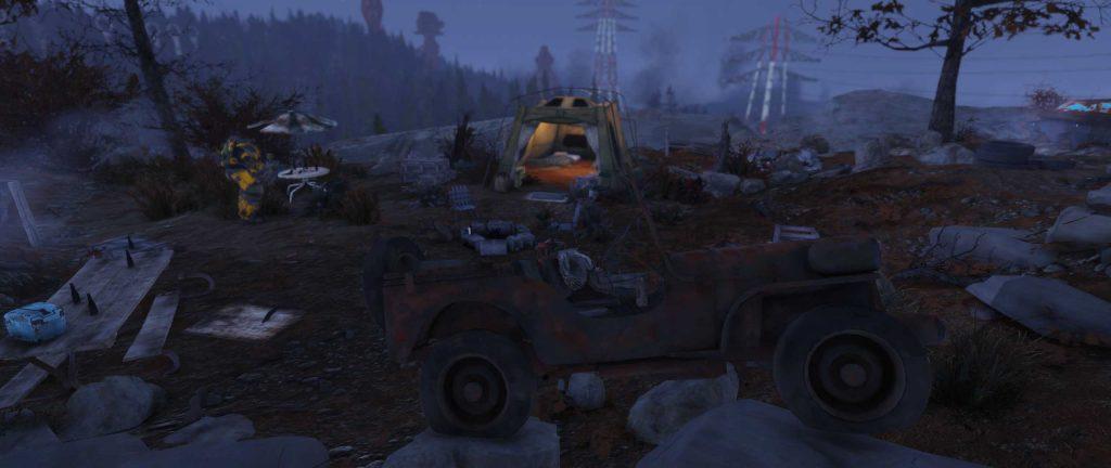 Fallout 76 verlassenes Camp