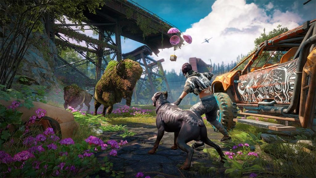 Far Cry New Dawn Tiere
