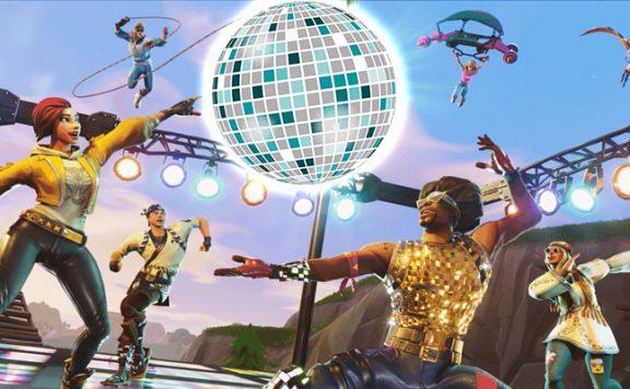 Fortnite Disko Tanzen Titel